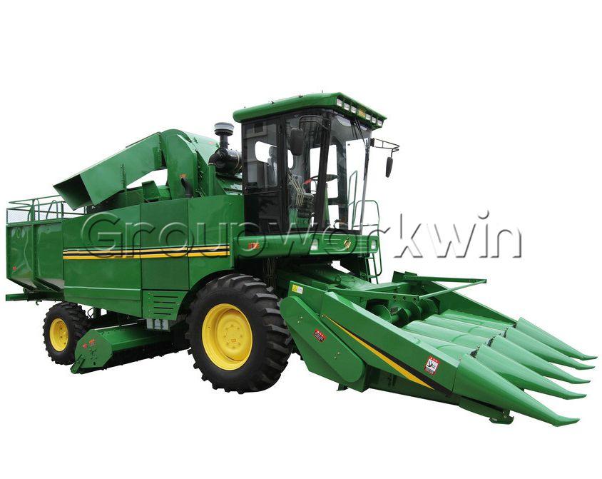 Corn Combine Harvester