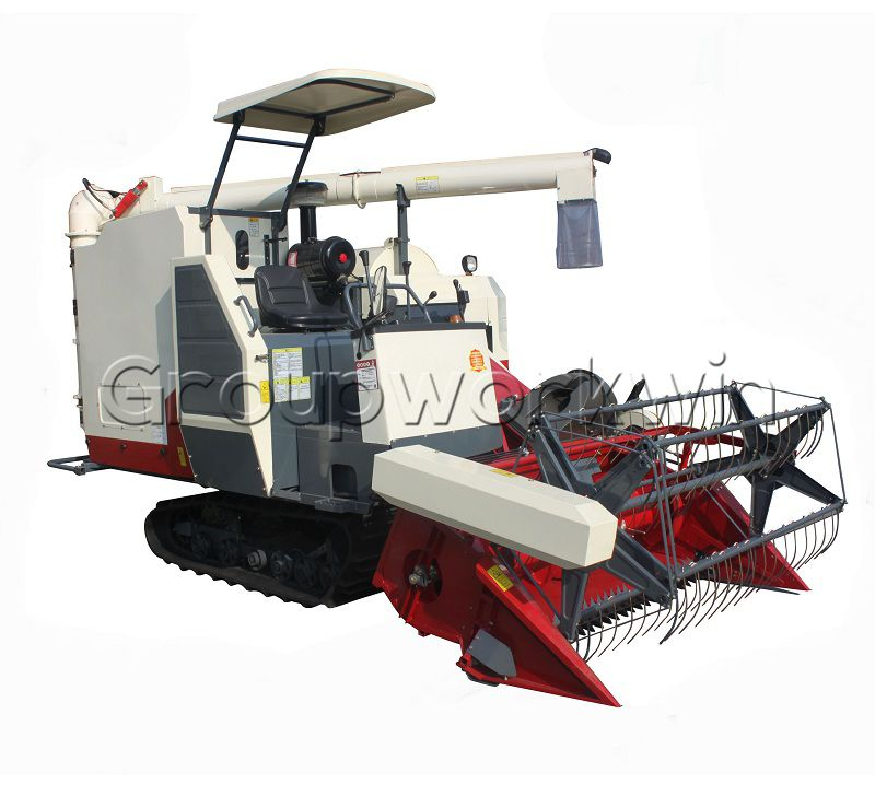 Paddy Combine Harvester